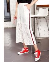 ガーベラレディース 韓国風 ファッション 精緻 レース 八分丈 ガウチョ スカーチョ スカンツ スカンチョ mb12037-1