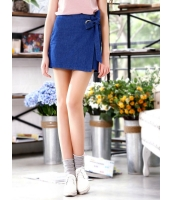 ガーベラレディース 韓国風 カジュアル Aライン デニム ミニスカート mb12082-1