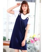 ガーベラレディース 韓国風 精緻 ファッション タンクトップワンピース mb12092-2