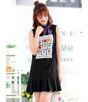 ガーベラレディース ファッション 学生風 精緻 袖なし ワンピース mb12124-1