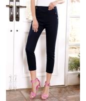ガーベラレディース 韓国風 ファッション タイト 八分丈 デニム ジーンズ サブリナパンツ mb12160-1