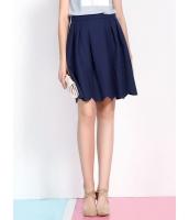 ガーベラレディース 韓国風 レトロ ミディアム丈 大きい裾 ゴアードスカート mb12194-1