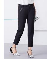 ガーベラレディース 韓国風 コーデアイテム OL ファッション カジュアル 着やせ カプリパンツ mb12215-1