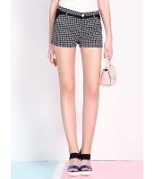 ガーベラレディース 韓国風 ファッション コーデアイテム 学生風 クラシック 格子 リラックス 通気性 ショートパンツ ホットパンツ mb12221-1