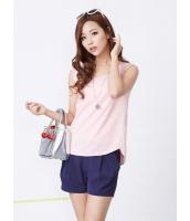 ガーベラレディース 韓国風 カジュアル コーデアイテム ファッション リラックス 袖なし ブラウス mb12231-1