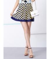 ガーベラレディース 韓国風 レトロ ミニスカート mb12251-1