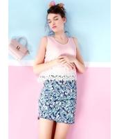 ガーベラレディース 韓国風 ファッション ロマンチック 花柄 レース コーデアイテム シフォン ゆったり 袖なし タンクトップ mb12257-2