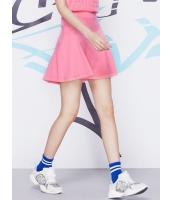 ガーベラレディース 韓国風 ファッション 通気性 肌に優しい綿質 ハイウエスト Aライン ゴアードスカート mb12261-1