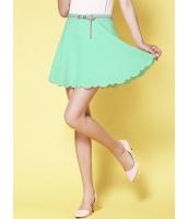 ガーベラレディース ファッション ミニスカート (ベルト特典付き) mb12266-1