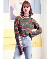 ガーベラレディース 韓国風 ファッション ショート丈 スウェット mb12287-1