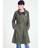 ガーベラレディース 韓国風 ファッション ロング丈 コート mb12294-1