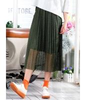 ガーベラレディース 韓国風 ファッション コーデアイテム レース プリーツ スカート mb12302-1