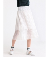 ガーベラレディース 韓国風 ファッション コーデアイテム レース プリーツ スカート mb12302-2