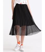 ガーベラレディース 韓国風 ファッション コーデアイテム レース プリーツ スカート mb12302-3