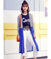ガーベラレディース 韓国風 ファッション ロング丈 カーディガン 長袖 コーディガン mb12315-1