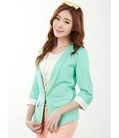 ガーベラレディース テーラードジャケット  韓国風 ファッション 着やせ レース コーデアイテム mb12360-3