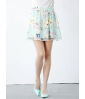 ガーベラレディース フレアスカート ミニスカート  韓国風 スイート ファッション コーデアイテム mb12376-1