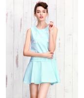 ガーベラレディース ミニワンピース 袖なしワンピース フレアワンピース  韓国風 ファッション mb12377-1