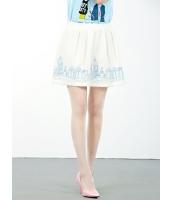 ガーベラレディース フレアスカート ミニスカート  韓国風 mb12405-2