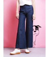ガーベラレディース ジーンズ デニムパンツ ワイドパンツ  欧米風 ファッション 軽やか mb12443-1