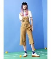 ガーベラレディース オーバーオール サロペット  韓国風 スポーティ ファッション mb12462-1