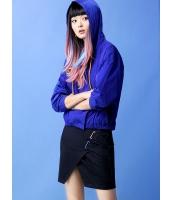 ガーベラレディース ジップアップパーカー 長袖  韓国風 ファッション 長袖 mb12474-1