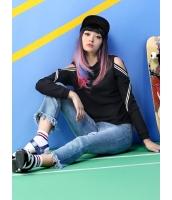 ガーベラレディース トレーナー・スウェット 長袖  韓国風 ファッション mb12500-1