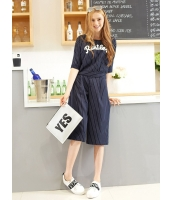 ガーベラレディース ガウチョ スカーチョ  韓国風 ファッション コーデアイテム ボーダー 七分丈 mb12501-1
