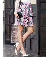 ガーベラレディース ゴアードスカート フレアスカート 膝丈スカート  韓国風 ロマンチック 花柄 mb12507-1