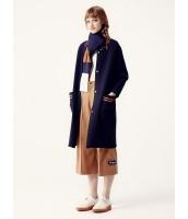 ガーベラレディース ミディアムコート  韓国風 ファッション リラックス 柔らか 文字入り セーター mb12557-1