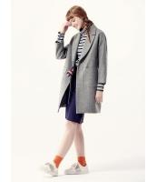 ガーベラレディース ミディアムコート  韓国風 ファッション mb12575-1