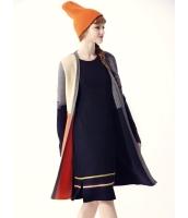 ガーベラレディース コーディガン ミディアムコート  ファッション シンプル おおらか セーター mb12584-1