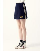 ガーベラレディース ミニスカート  韓国風 カジュアル シンプル おおらか ウール mb12598-1