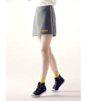 ガーベラレディース ミニスカート  韓国風 カジュアル シンプル おおらか ウール mb12598-2
