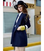 ガーベラレディース ショートコート  韓国風 おおらか ファッション 着やせ 長袖 mb12629-2