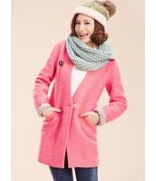 ガーベラレディース フリースコート ミディアムコート  ファッション コーデアイテム ウール mb12676-2