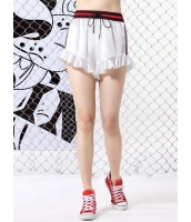 ショートパンツ 欧米風 ペプラム裾 mb13137-2