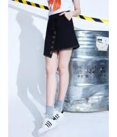デニムスカート ラップスカート ミニスカート 個性派 文字入り 刺繡入り イレギュラー mb13994-1