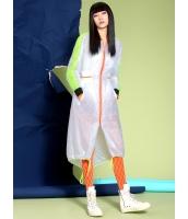 コーディガン ロングコート ストリートファッション 紐調節 ロング丈 mb14008-1