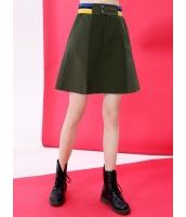 ゴアードスカート ミニスカート 欧米風 カジュアル 着やせ Aライン mb14051-2