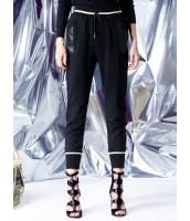 スウェットパンツ 欧米風 ストリートファッション ストレート PUレザー カジュアル mb14132-1