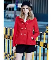 フリースジャケット テーラードジャケット 個性派 取り外し可能ファー襟 ミディアムショート丈 mb14158-1
