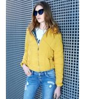 キルティングジャケット スタンドカラー 個性派 フード付き ショート丈 mb14161-2