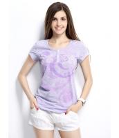 ガーベラレディース Tシャツ カットソー 半袖 シンプル 丸首 ヘンリーネック ベーシック mb14259-1