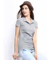 ガーベラレディース ポロシャツ 半袖 シンプル 半袖 ベーシック mb14260-1