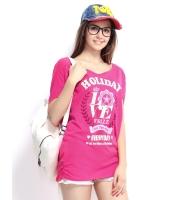ガーベラレディース Tシャツ カットソー 半袖 シンプル 丸首 ゆったり 純綿 ドロップショルダー mb14261-1