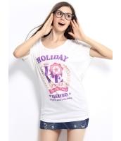 ガーベラレディース Tシャツ カットソー 半袖 シンプル 丸首 ゆったり 純綿 ドロップショルダー mb14261-2