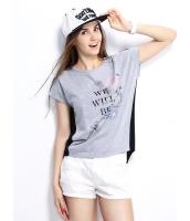 ガーベラレディース Tシャツ カットソー 半袖 シンプル 純綿 シフォン ハイロー mb14270-1