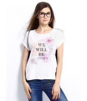 ガーベラレディース Tシャツ カットソー 半袖 シンプル 純綿 シフォン ハイロー mb14270-2