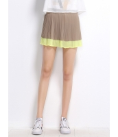 ガーベラレディース プリーツスカート ミニスカート コーデアイテム ゴムウエスト mb14297-1